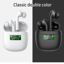 Tws Wireless Bluetooth J3 Pro Headset  Sport Earphone Touch Control Digital Display Bluetooth 5.2 LED Headphone For All Phone
