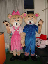 Cartoon valentine bear costume Halloween ball mascot