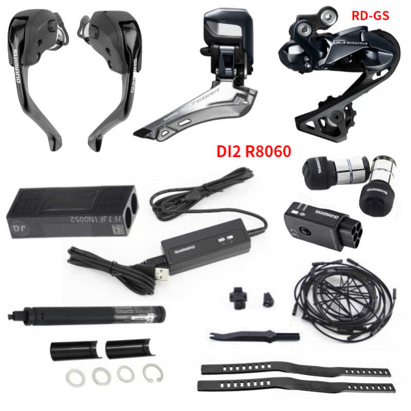 Image 2 - shimano R8060 Di2 TT Electronic Groupset ULTEGRA R8060 Derailleurs ROAD Bicycle ST+FD+RD Electronic partsBicycle Derailleur   -