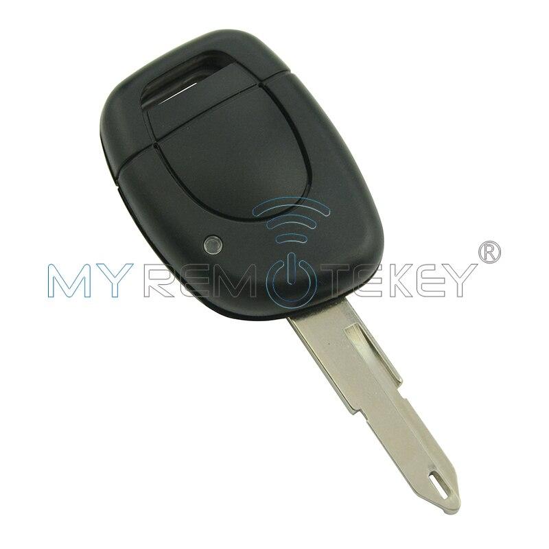 Daljinski gumb za avtomobilski ključ 1 za Renault Clio II 2001 2002 2003 2004 2005 ID46 - čip PCF7946 434 Mhz NE73 remtekey