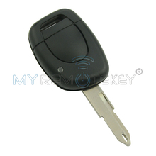 Remote car key 1 button for Renault Clio II 2001 2002 2003 2004 2005 ID46 - PCF7946 chip 433 Mhz NE73
