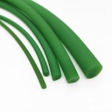 5 метров промышленный полиуретановый ремень PU круглый ремень с зеленым поясом мелкий Шнур