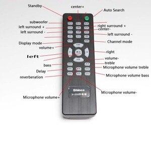 Image 3 - KYYSLB X 200 650 واط المنزل الصوت بلوتوث مضخم للصوت 5.1 المسرح المنزلي الصوت مضخم رقمي HIFI عالية مكبر كهربائي