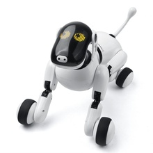 Electronic Dog Robot 2.4G Wireless Smart Remote Control Intelligent Talking Robot Dog Electronic Pet Gifts for Children Toys 2 4g wireless remote control intelligent robot dog children s smart toys talking dog robot electronic pet toy birthday gift