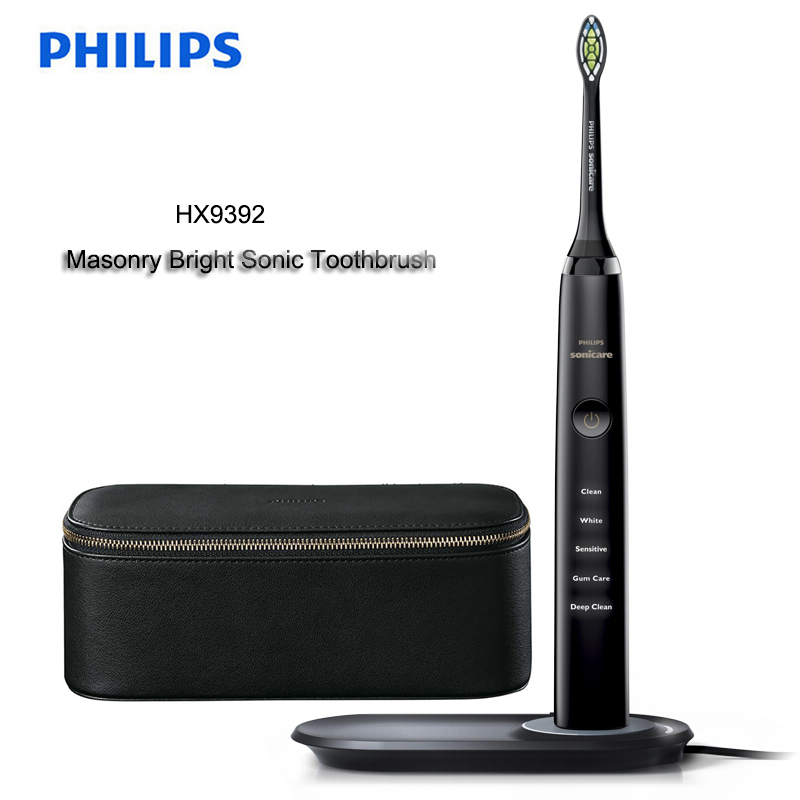 PHILIPS HX9392 Electric Toothbrush Cordless Sonic Vibration Body Wash Upgrade 31000R/M for Adult Masonry bright type image