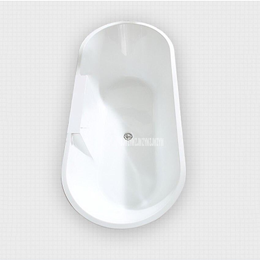 SY-2013 1.5m adulto acrílico casa banheira oval autônoma banheira moderna do banheiro s-armadilha com torneira de cobre ferragem parte-3