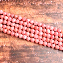 Natural redstone Natural Stone Beads Loose Stone Beads For Jewelry Making DIY Bracelets Necklace Accessories 4/ 6/8/10mm