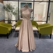 ファッション A ラインのウエディングドレスアフリカ女性 2019 ノースリーブ名誉ドレスセクシーなハイスプリットウェディングパーティー
