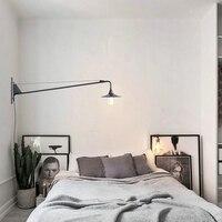 New Replica Designer adjustable antique modern industrial/Long swing arm wall lamp lights for Bathroom Vanity/sconce fixture