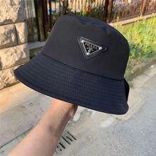 2020 nova unissex padrão balde chapéu praia chapéu de sol rua chapéu pescador ao ar livre boné masculino e mulher sólida viagem ao ar livre