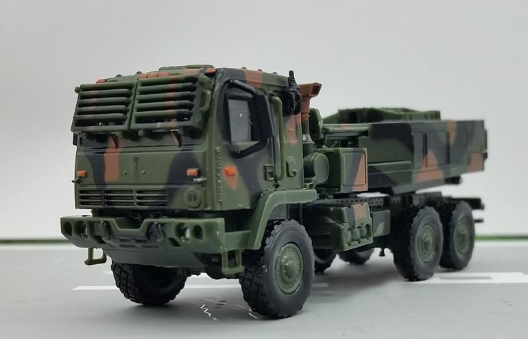 1 72 eua m142 foguete automotor semiliga coleção modelo