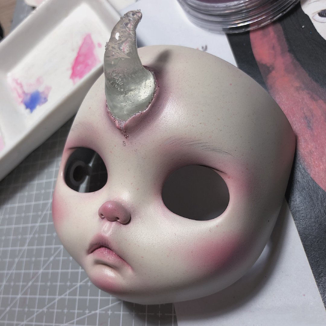 1/6 BJD 30CM Doll Toys 19 Joint Top Quality Customization Doll Nude Blyth Doll ,face Plate With Makeup Beast Makeup