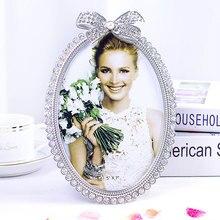 Европейская фоторамка 6 дюймов 7 семь дюймов Изысканная Алмазная фоторамка для фотостудии отправить подарок подруге
