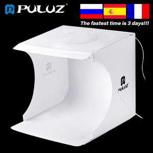 Image 5 - Mini caixa de luz dobrável para fotografia Softbox 2, estúdio de fotos, painel de iluminação em LED com lâmpada de fundo para câmera DSLR