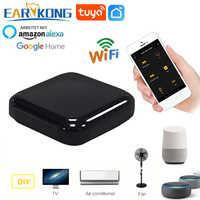 Tuya WiFi inteligente IR Control remoto para aire acondicionado TV Fan de casa inteligente de Control remoto Universal apoyo Alexa de Google