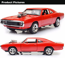 1:32 Scale 1970 Dodge Charger Model Car Fast Furious model cars diecast Alloy Toy Cars Diecast toys for Boy Kids gift 1 32 scale car model x90 tesla alloy 1 32 diecast model car w sound