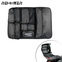 Motorcycle Tour Pak Lid Fitted Lining Organizer Storage Pocket Tool Saddle Bags For Harley Touring Street Glide Road King FLHR