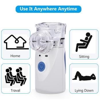 US Stock Portable Nebulizer Inhaler Adult Nebulizador Portatil Medical Equipment Health Care Inalador Adulto USB