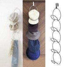 5-ring hat storage coat hook behind the door without trace wardrobe bag scarf coat hook coat 5
