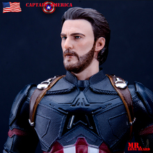 Crazy Toys Marvel Avengers Captain American Statue PVC Action Figure Collectible Model Toy цена в Москве и Питере