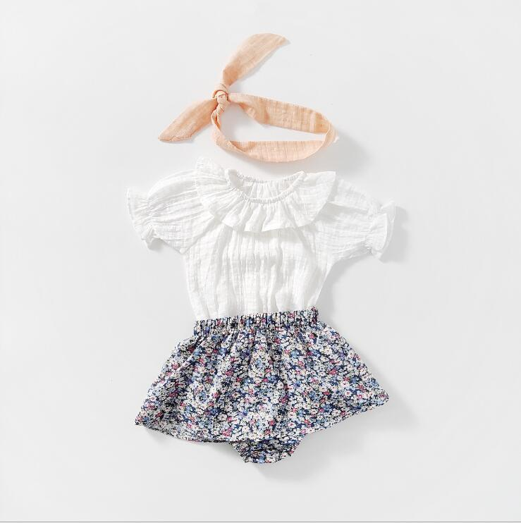 2020-New-Baby-Girls-2-Pcs-Set-Blouse-PP-Shorts-Summer-Girls-Suits-6-24-month