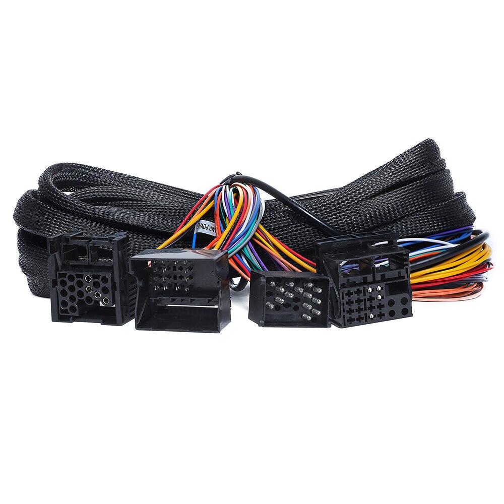 For BMW E46/E39/E53 17 Pin+40 Pin Extended Installation Wiring Harness For GA9350/GA9350B/GA9349/GA9250B/GA9301B/GA9150B/GA9201B