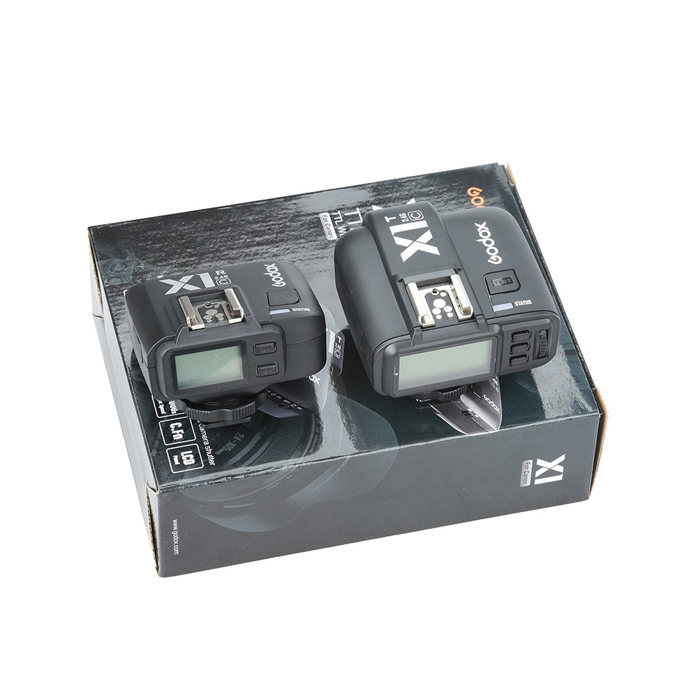 Godox-X1C-TTL-2-4-G-Wireless-Transmitter-With-Receiver-Kit-for--1000D-600D-700D