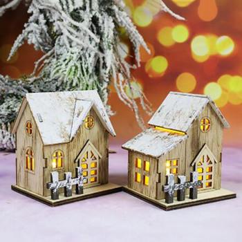 LED drewniane pudełko kreatywny kształt mała lampka nocna dekoracja świąteczna dekoracja świąteczna home decor новый год 2021 # j3 tanie i dobre opinie ISHOWTIENDA CN (pochodzenie) Łóżko pokój Black W górę iw dół Brak 12 v Dotykowy włącznik wyłącznik Żarówki led