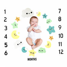 1m Newborn Baby Monthly Milestone Photo Milestone Blanket Kid Diaper Background Cloth Photography Props Accessories Backdrops