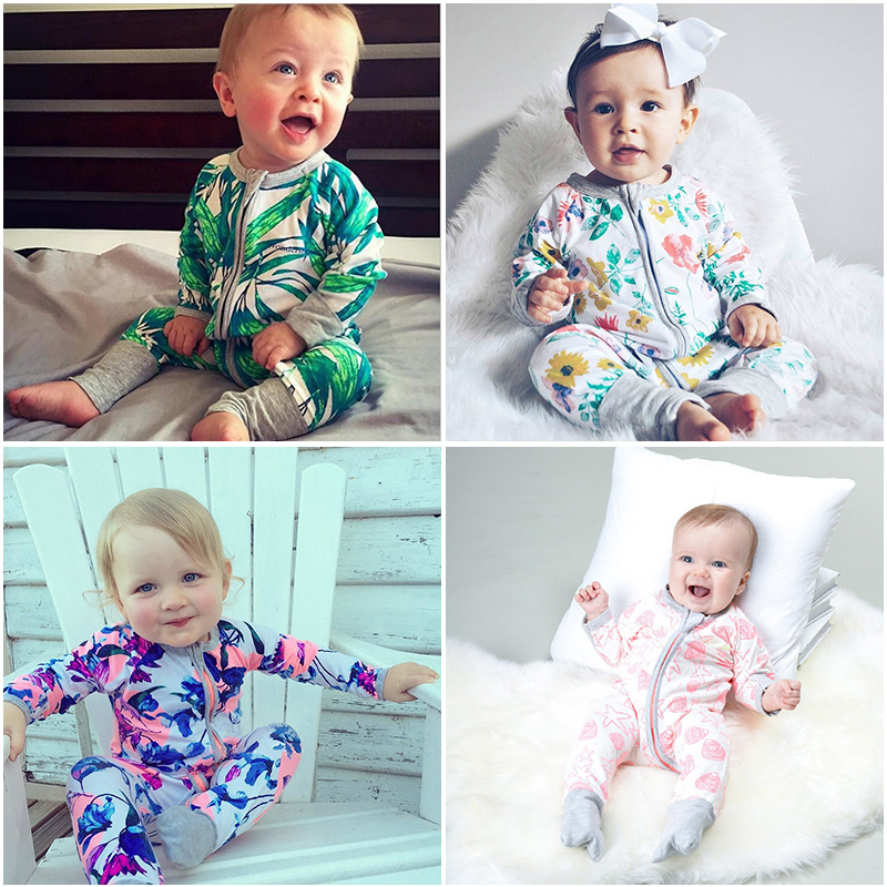 Children Tracksuit Long Sleeve Autumn And Winter Infants Child Crawling Clothes Onesie Nursing Crawling Clothes