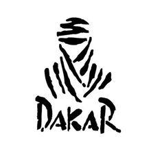 Универсальный креативный Дакар внедорожные Светоотражающие Водонепроницаемый автомобиля Стикеры наклейка