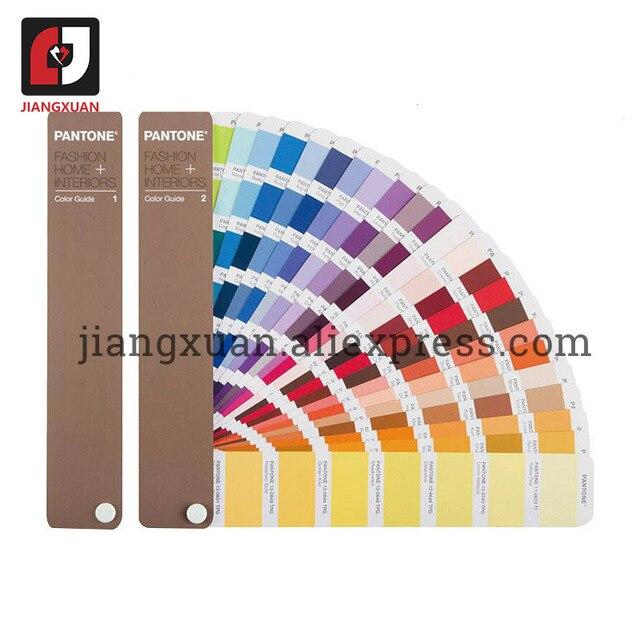 "PANTONE 2 ספרים/סט ארה""ב TPX/TPG FHIP110N 2310 סוגים של צבע מדריך אופנה פנים טקסטיל בגד"
