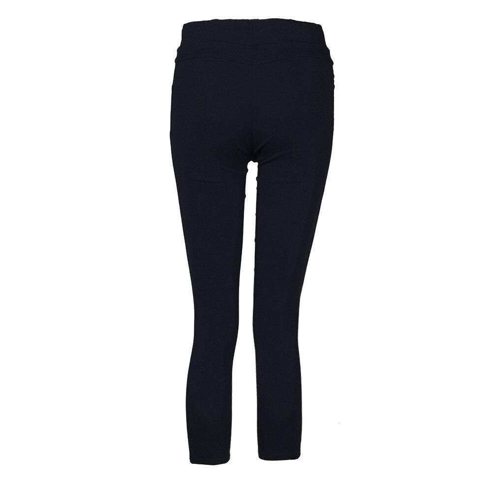 H516343fdaa4d4a2081a84f14baf030fcX White Jeans Feminino Plus Size Candy Pantalon Femme Black Skinny Jeans Woman Long Pants Large Size Jeans For Women