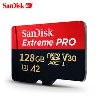SanDisk Extreme Pro 64GB microSDHC SDXC UHS-I Speicher Karte micro SD Karte 16GB TF Karte 95 MB/s 128GB 32G Class10 U3 Mit SD Adapter