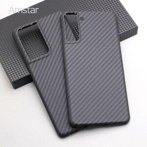 Amstar реальный случай из углеродного волокна Жесткий чехол для Samsung S21 ультра/S21 Плюс/S21 прикрепляющийся к ультра тонкий углеродного волокна чехол для телефона|Бамперы|   | АлиЭкспресс