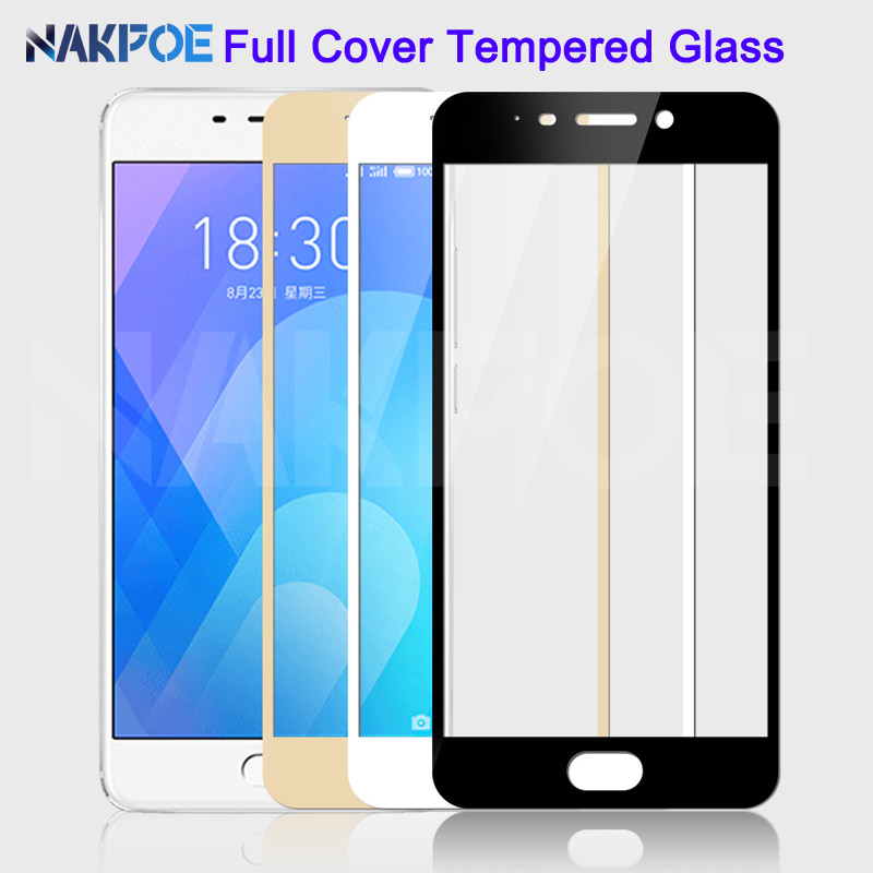 9D Protective Glass On The For Meizu V8 Pro M8 Lite M8 M6 M5 Note M6S M6T M5S M5C Tempered Screen Protector Glass Film Case