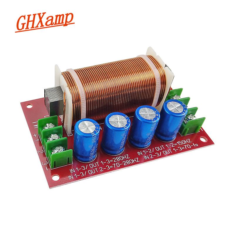 GHXAMP 300 Вт 600 Вт сабвуфер динамик кроссовер аудио 1 полосный фильтр Частотный делитель супер Вуфер Для 12 дюймового 15 дюймового динамика s 1 шт.|woofer 12 inch|woofer 12woofer 15 inch | АлиЭкспресс