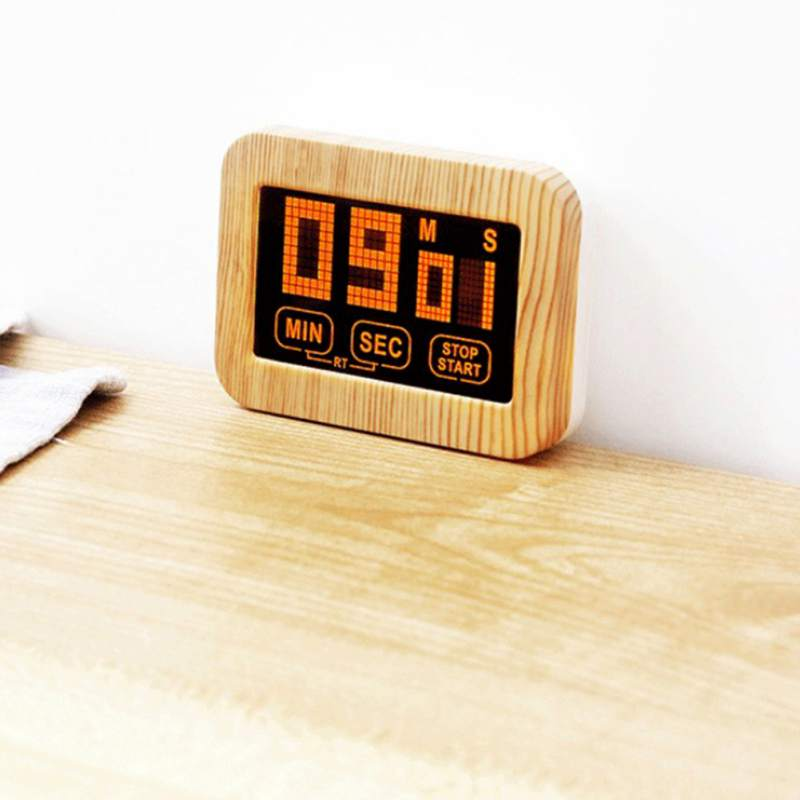 Practical Use Digital Kitchen Timer Large Display Home Electronic Kitchen Timer Stopwatch Cooking Tools Study Gadgets