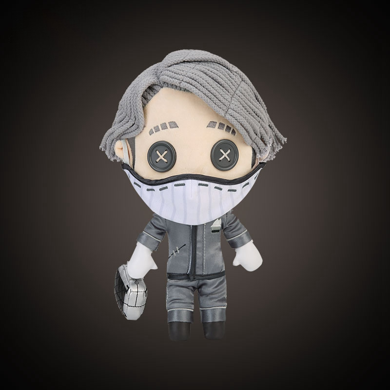 Game Identity V Survivor Aesop Carl Embalmer Plush Doll Toy Cosplay Plushie Toy Suit Dress Up Clothing Cute Anime Christmas Gift