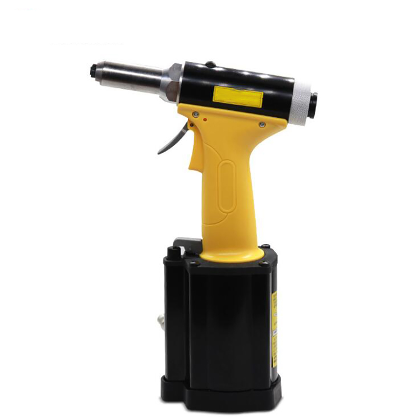 Self-priming Stainless Steel Blind Rivet Gun, 360 Degree Rotary Air Inlet, 3.2-4.8mm, 8100-11000N Hydraulic Pneumatic Rivet Gun