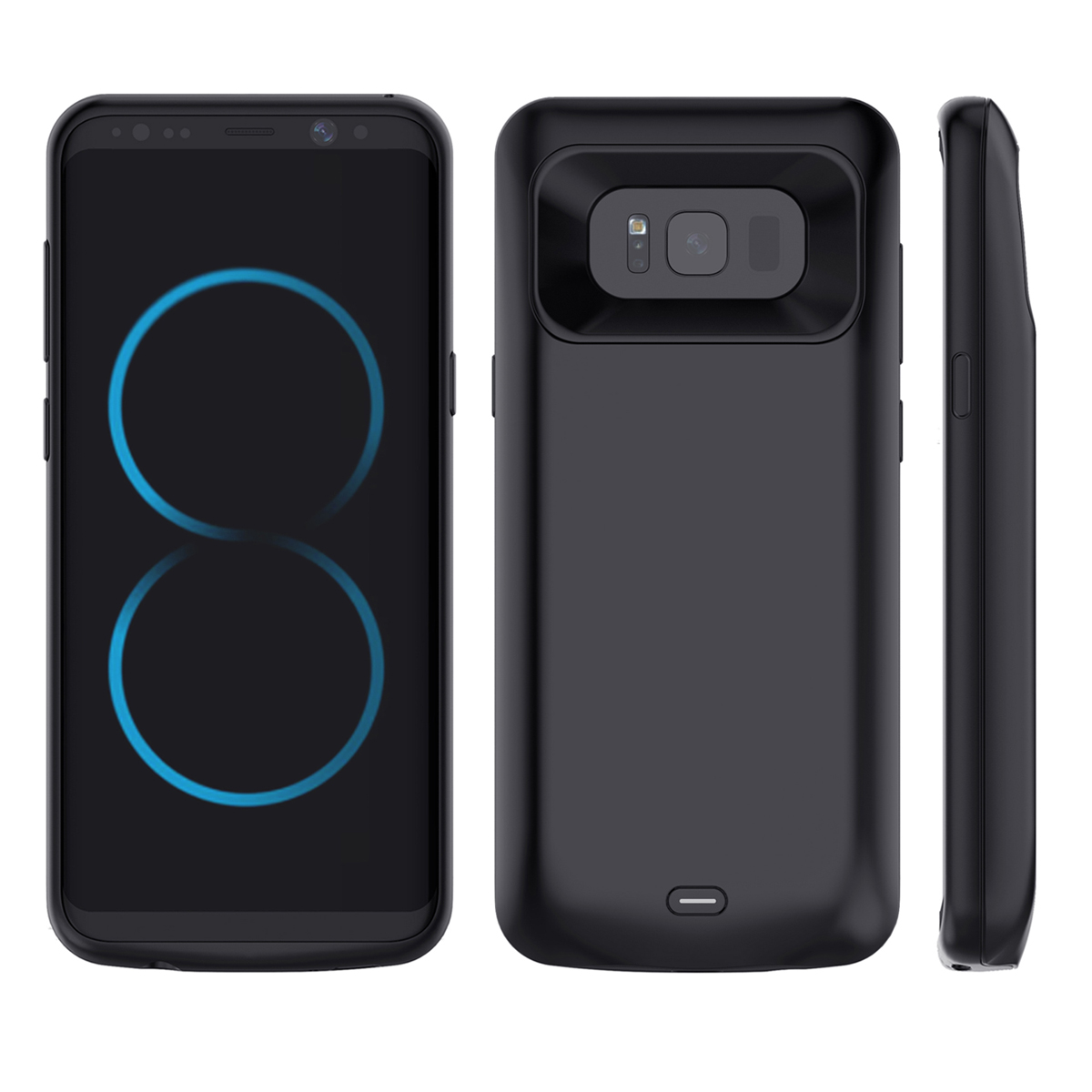 Battery Charger Case For Samsung Galaxy S Lite Luxury Edition Galaxy S8 Battery Case 5000mAh Backup