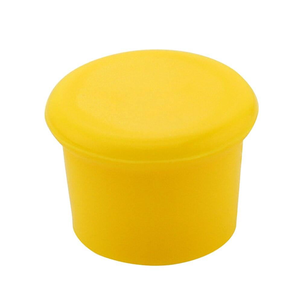 Bar esnek taze tutmak için mutfak restoran sızdırmazlık ev kırmızı şarap şişe kapağı sızdırmaz yumuşak silikon Drinkware kullanımlık stoper - title=