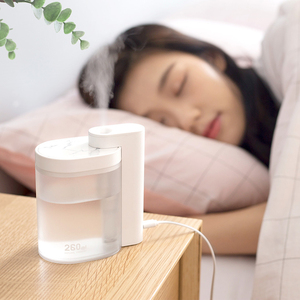 Image 5 - Xiaomi mijia 卓上加湿器超音波ミュート usb 充電 260 ミリリットル透明タンク空気清浄機水ネブライザーホームオフィス