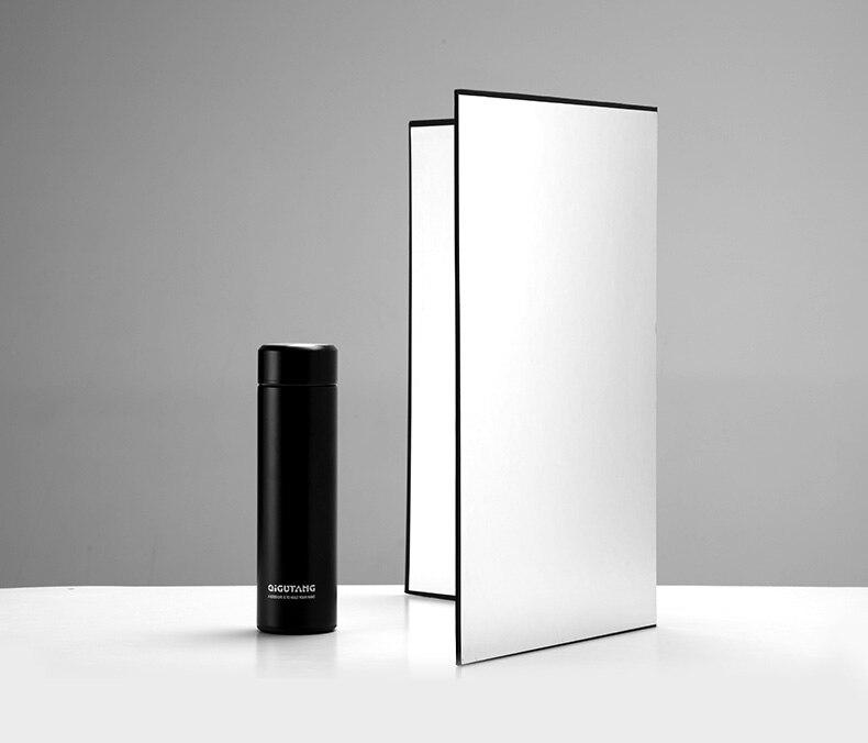 cartão, branco, preto, refletor, absorve, luz, grossa, papel reflexivo