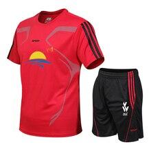 Высококачественные свободные мужские спортивные костюмы, быстросохнущие комплекты одежды для бега, спортивный костюм для бега, тренировок, тренажерного зала, фитнеса, пробежек, спортивные костюмы
