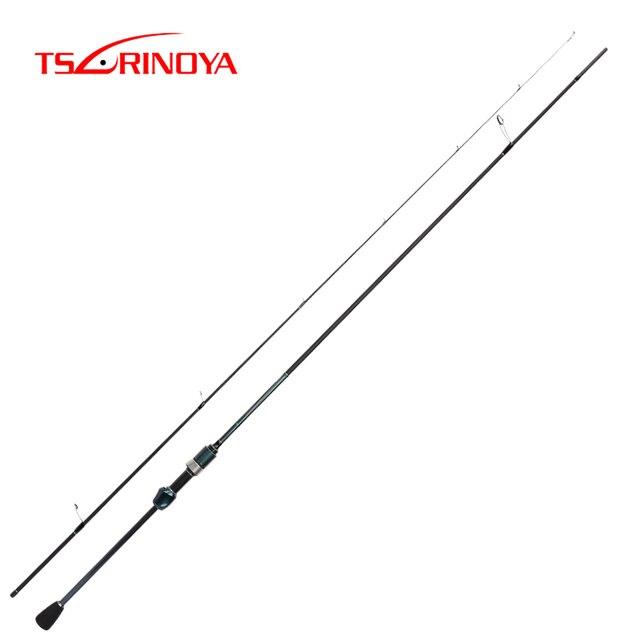 Tsurinoya 2.1m Pesca 초경량 스피닝 카본로드 패스트 파워 EVA 핸들 2 섹션 낚시 루어 Vara De Pescar Fishing Tackle
