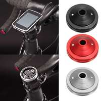 Road Bike Computer Holder Stem Top Cap Cycling Stopwatch GPS Speedometer Mount Bracket For Garmin Edge