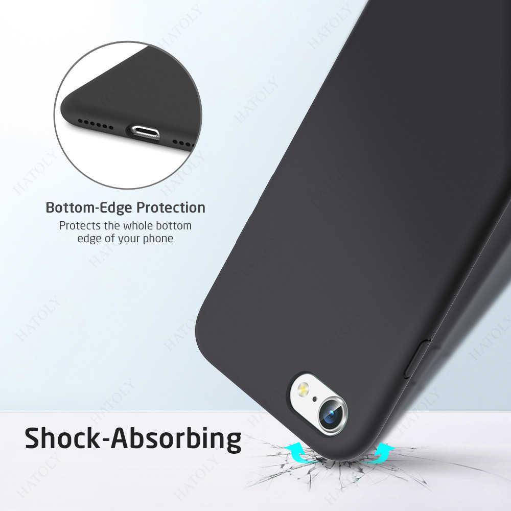 Voor Iphone Se 2020 Case Voor Apple Iphone 11 Pro Max Cover Originele Vloeibare Siliconen Telefoon Case Voor Iphone X xr Xs 5 6 6 S 7 8 Plus