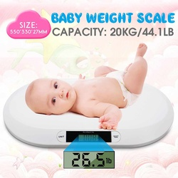 Smart Baby Weight Scale HD LED Display Electronic Newborn Cat Dog High-precision Weight Measure Tool Automatic Zero-Return