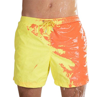 Temperature Sensitive Color Changing Beach Pants Shorts Soft for Swimming Pool QL Sale